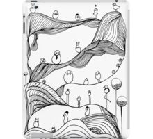 Monstrous landscape iPad Case/Skin