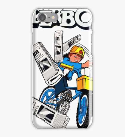 Paperboy Arcade  iPhone Case/Skin