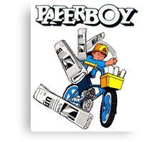 Paperboy Arcade  Canvas Print