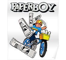 Paperboy Arcade  Poster