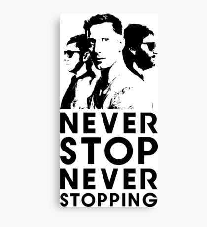 Popstar - Never Stop Never Stopping Version Two Canvas Print