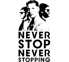Popstar - Never Stop Never Stopping Version Two Photographic Print