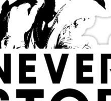 Popstar - Never Stop Never Stopping Version Two Sticker