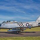 North American F-86A Sabre 48-178 G-SABR by Colin Smedley