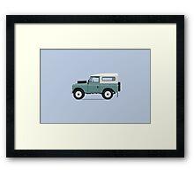 Land Rover Series III Framed Print