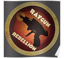 Logo - Vintage Scifi Raygun Poster