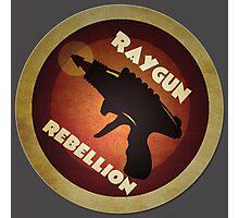 Logo - Vintage Scifi Raygun Photographic Print