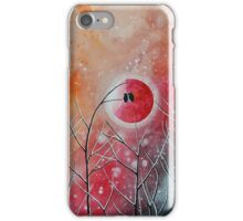 Crimson Owl Nights iPhone Case/Skin
