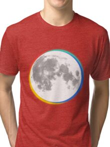 colourful moon Tri-blend T-Shirt