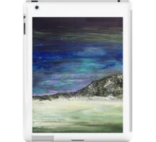 Arctic sunset (blue) iPad Case/Skin