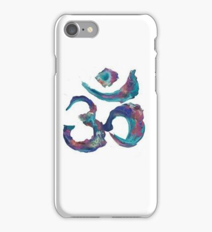 Painted Om iPhone Case/Skin
