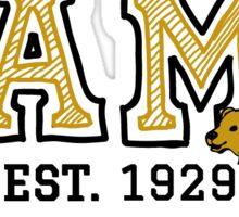 UAMB Gold Lines Sticker