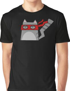 Raphael Teenage Mutant Ninja Kitty Graphic T-Shirt