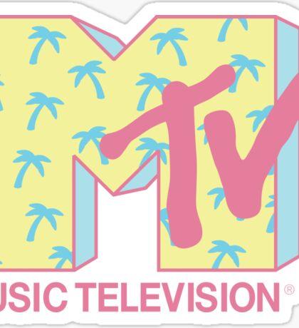 Summer MTV Sticker