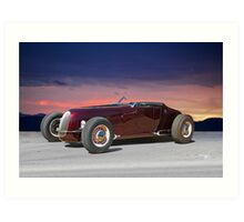 1927 Ford 'Track T' Roadster Art Print