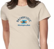 Bainbridge Island. Womens Fitted T-Shirt