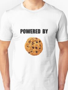 Powered By Cookie Unisex T-Shirt