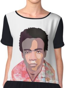 Childish Gambino Chiffon Top