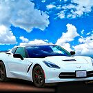 Corvette C-7 Day at the Beach! by ChasSinklier