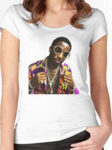 Guwop Women's Fitted Scoop T-Shirt