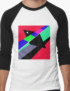 Abstract art by Moma Men's Baseball ¾ T-Shirt