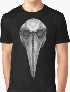 Plague Doctor's Mask Graphic T-Shirt
