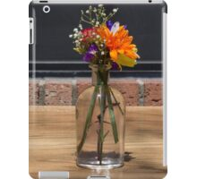 Pretty Table Flowers!  iPad Case/Skin