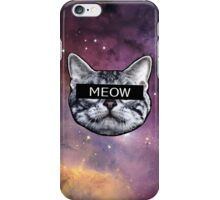 Censor Cat iPhone Case/Skin