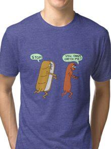 can't catch me Tri-blend T-Shirt