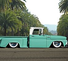 1960 Chevrolet Pickup 'Praise the Low'rd' by DaveKoontz