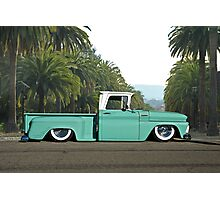 1960 Chevrolet Pickup 'Praise the Low'rd' Photographic Print