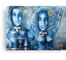 Martian women Canvas Print