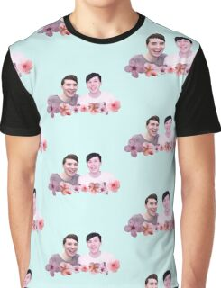 Dan and Phil | Cherry Blossom Graphic T-Shirt