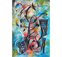 Sound of Instruments Photographic Print