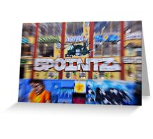 Welcome to 5Pointz Greeting Card