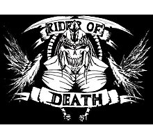 Rider Of Death Photographic Print