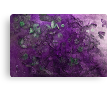 Blossoms in the wind  (purple) Canvas Print