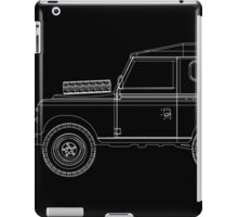Land Rover Series III Outline iPad Case/Skin
