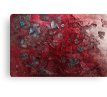 Blossoms in the wind  (red) Canvas Print