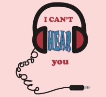I Can't Hear You Kids Tee