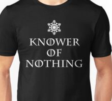 You Know Nothing Jon Snow Unisex T-Shirt
