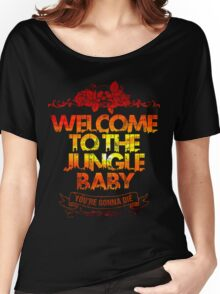 Welcome to the jungle Women's Relaxed Fit T-Shirt