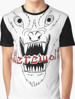 Face of the Werewolf Graphic T-Shirt