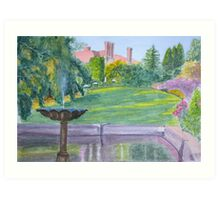Autumn, Pashley Manor by John Rees Art Print