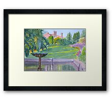 Autumn, Pashley Manor by John Rees Framed Print
