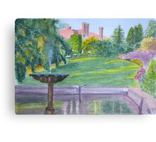 Autumn, Pashley Manor by John Rees Canvas Print