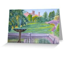 Autumn, Pashley Manor by John Rees Greeting Card