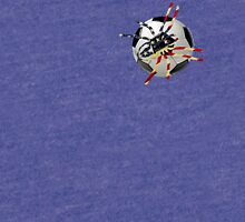 AMERICAN SOCCER SPIDER  Tri-blend T-Shirt