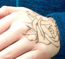 EJK - Rose Touch Sticker