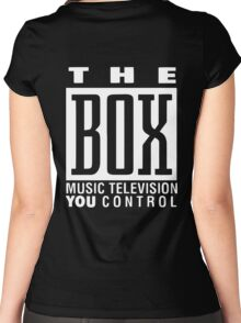The Box Music Television You Control Women's Fitted Scoop T-Shirt
